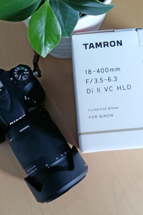 tamron 18-400 mm reiseobjektiv
