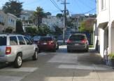 Sidewalk parking, Monterey Blvd and Gennessee Street, 2016.