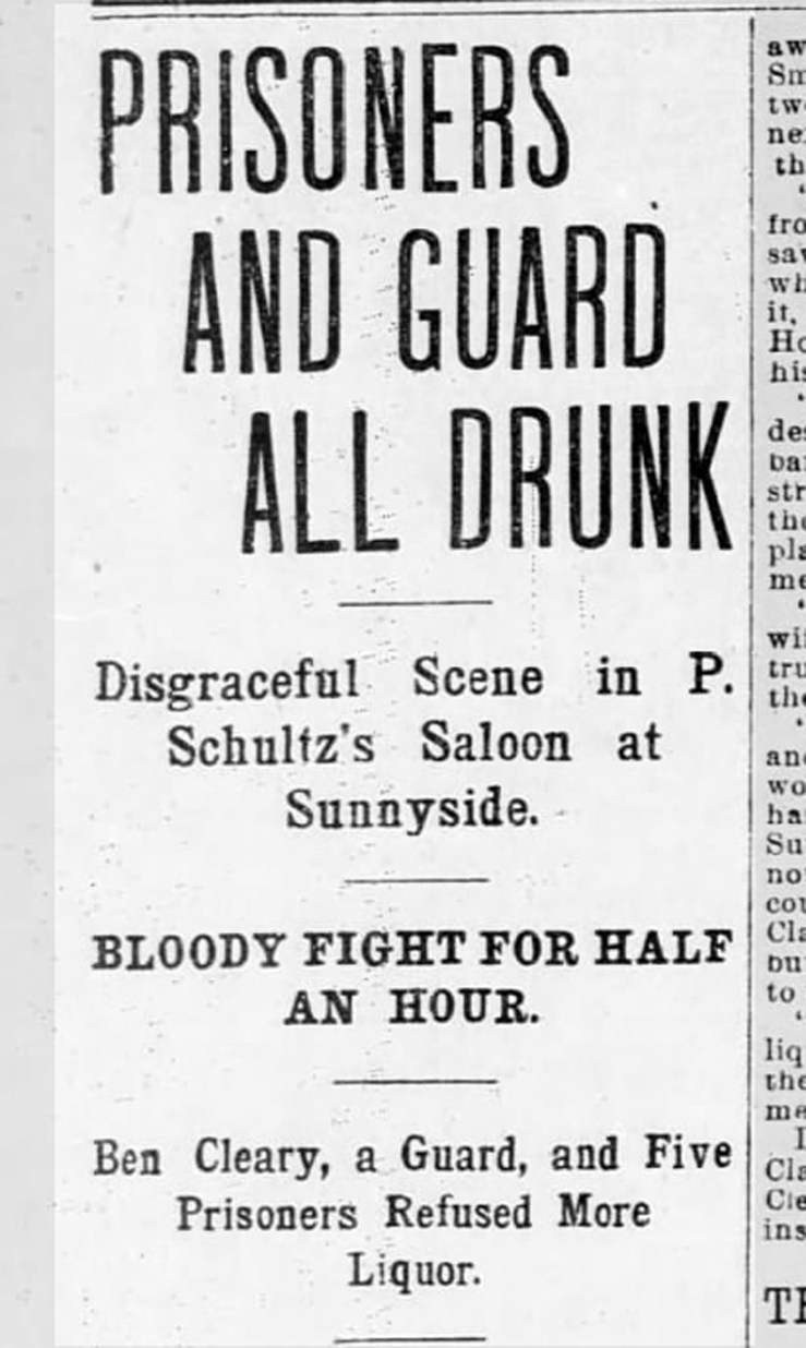 Headline from SF Call, 1 May 1897.