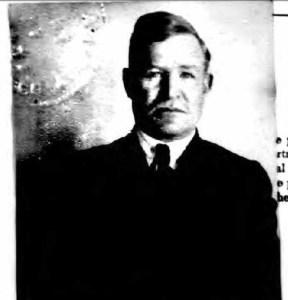 Hugo Ekenberg, in 1921 passport photo. From ancestry.com.