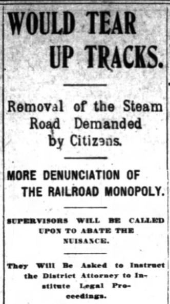 More denunciation! SF Chronicle, 5 June 1899.