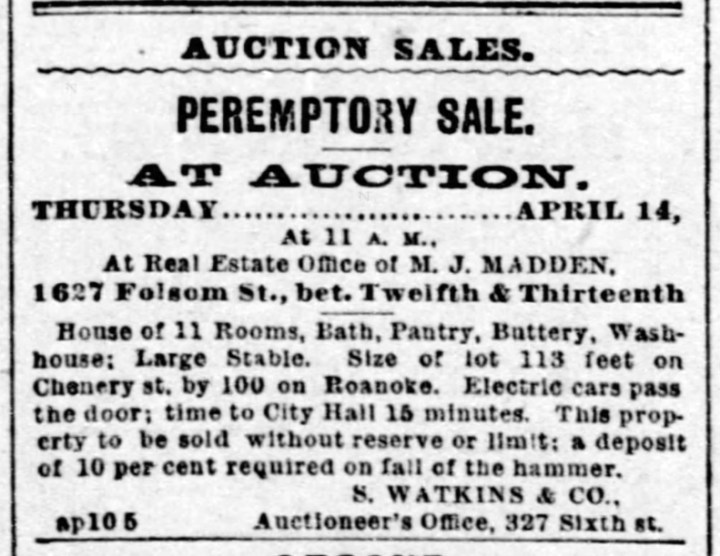 1892Apr10-Call-p8-478Chenery-auctioned