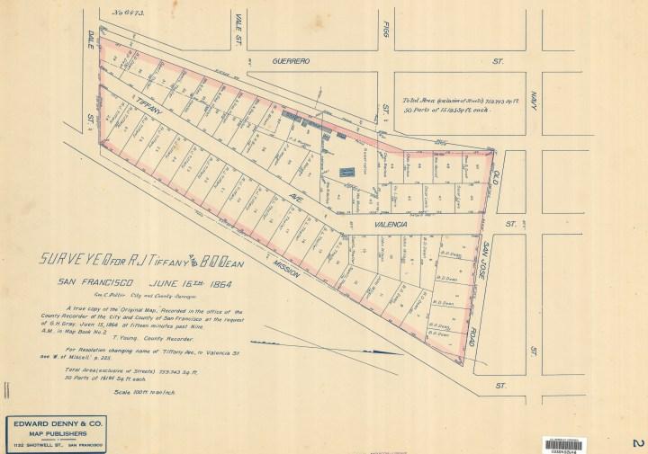 1854-Tiffany-Homestead-Map_1864-sm