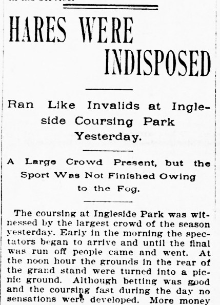 1898Feb14-Call-p7-Ingleside-Coursing-hares-indisposed-crop