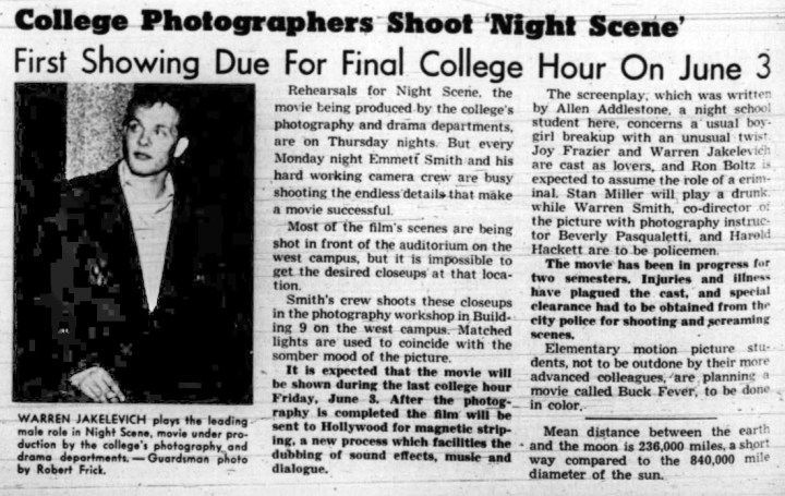 1955may25-Guardsman-p2-film-shoot-West-Campus-CCSF