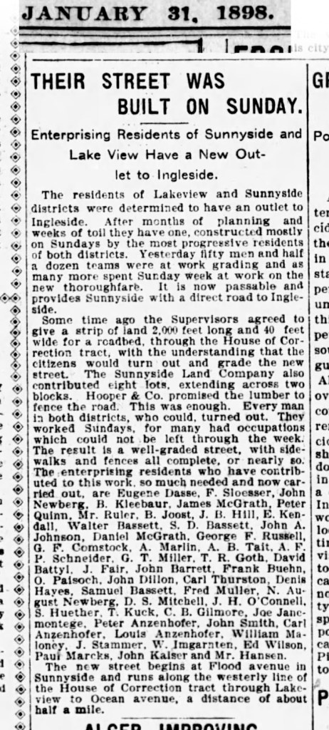 1898Jan31-Examiner-First-cut-thru-Phelan-Ave-Sunnyside-frida-kahlo