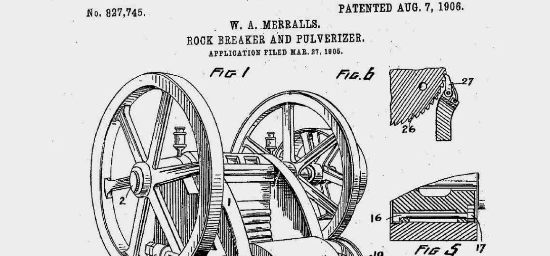 WA Merralls, US patent no.827745