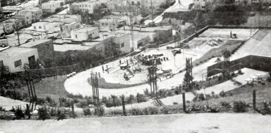 1966. SF Dept Public Works, Sunnyside Playground.