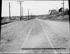 May 1909. Monterey Blvd looking west, near Detroit Street. Image courtesy SFMTA. sfmta.photoshelter.com