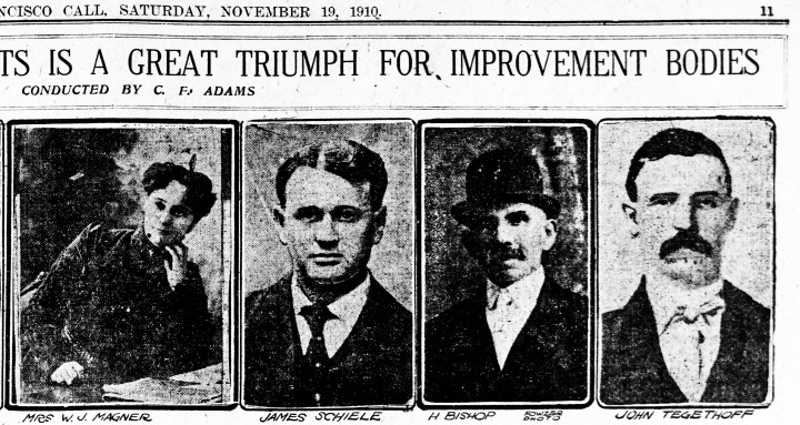 SF Call, 19 Nov 1910.