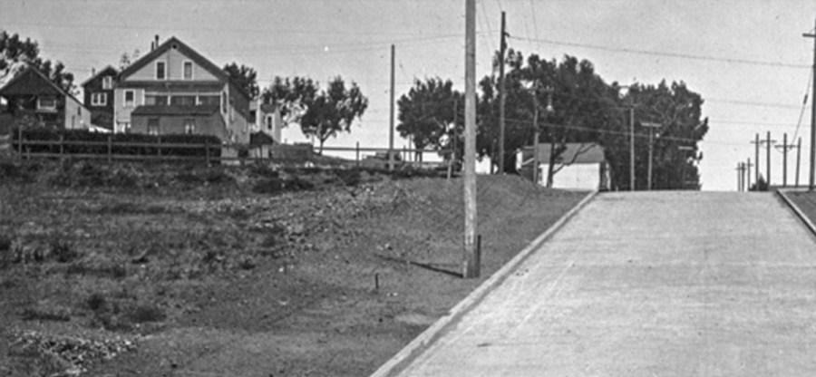 1916. Congo Street at Hearst Ave. OpenSFHistory.org.