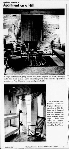 SF Examiner, 12 Apr 1964. Feature: 3759 - 16th St/54 States St (p2).