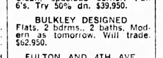 SF Examiner, 6 Aug 1965. For 375-377 Diamond Street.