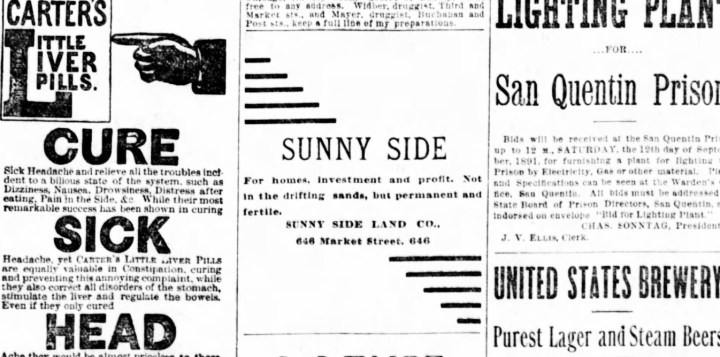 1891Sep06-c-Examiner-Sunnyside-AD