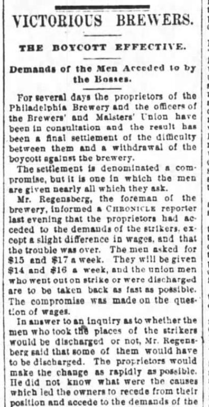 Victory! SF Chronicle, 22 Jul 1887.