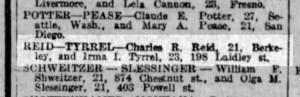 27 Nov 1919. SF Examiner.