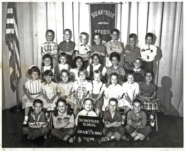 First/second grade, Sunnyside Elementary School, 1960. Courtesy Marty Hackett.