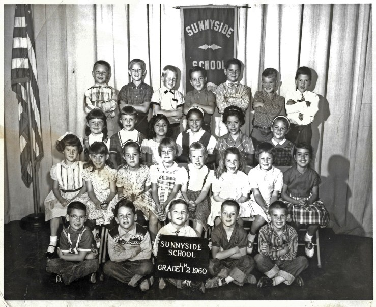 First/second grade, Sunnyside Elementary School, 1960. Courtesy Marty Hackett.