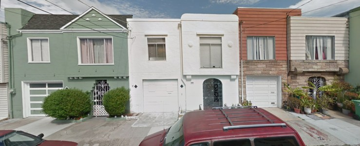 700 block of Gates Street, Bernal Heights. Plov built, 1946.