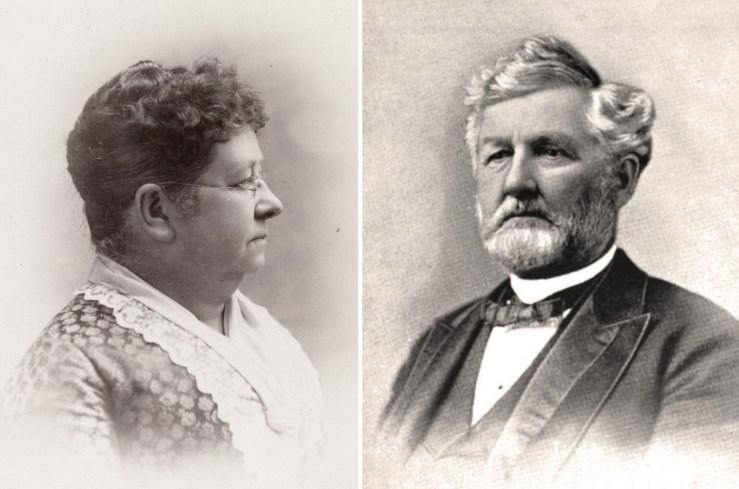 1887. Mary Winslow Staples and David Jackson Staples. Courtesy Society of California Pioneers.