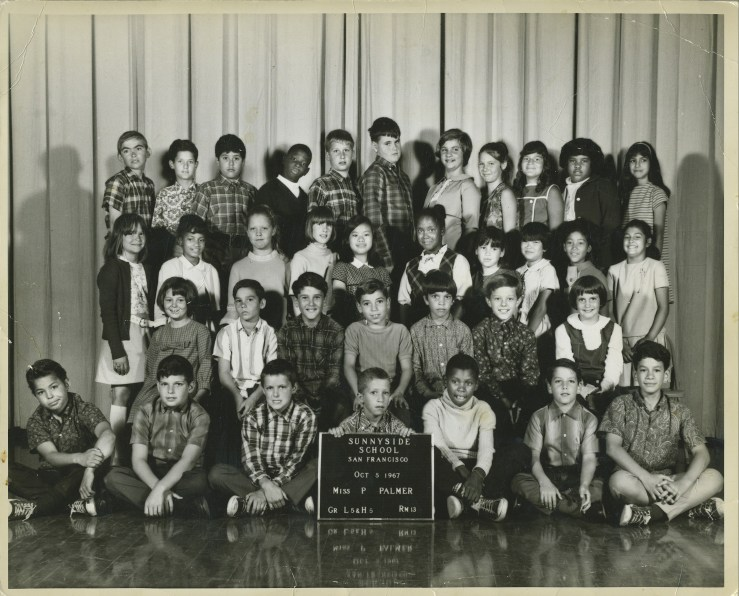 Fifth grade, Sunnyside Elementary School, 1967. Courtesy Anthony Eckstein.