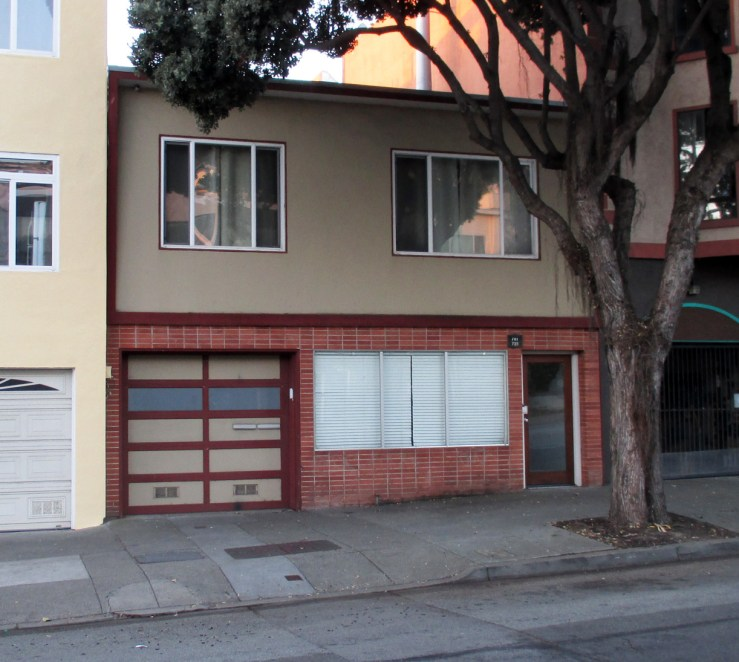 2020. 741 Monterey Blvd. Last used as a shop, early 2000s. Photo: Amy O'Hair