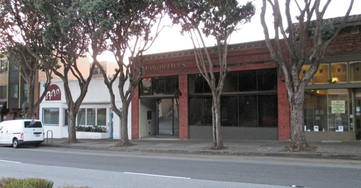 2020. 769 Monterey Blvd. Law offices, insurance, real estate. Photo: Amy O'Hair