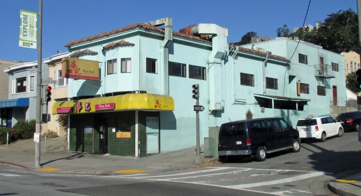 2020. 700 Monterey Blvd. Won Kok restaurant since about 2016. Was Lucky River before that, famous for its cook roughing up some frozen meat on the sidewalk, caught on video in 2014. Photo: Amy O'Hair