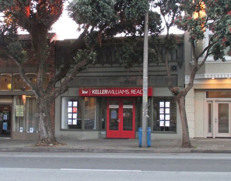 2020. 775 Monterey Blvd. Another dreary real estate office. Photo: Amy O'Hair