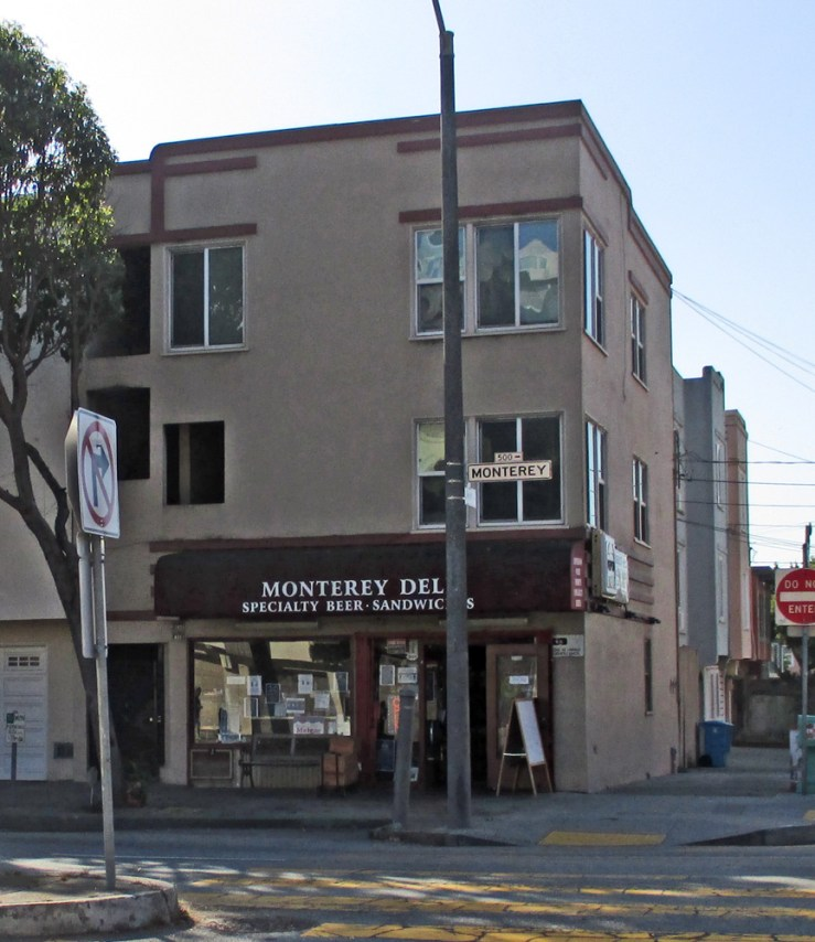 2020. 499 Monterey Blvd. Monterey Deli has been the name of this local favorite shop since 2000. Photo: Amy O'Hair