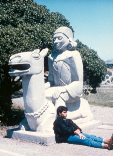 Sargent Johnson, Llama, 1939. For Golden Gate International Exposition. Photo: treasureisland1939.com (1989).