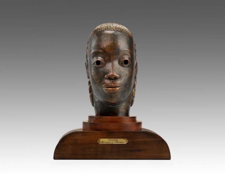 Sargent Johnson, Mask. 1935c. Smithsonian American Art Museum.