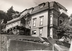 1957c. The Poole-Bell House taken by Joe LoPresti during the time he owned it. Photo courtesy Diane LoPresti Christensen.