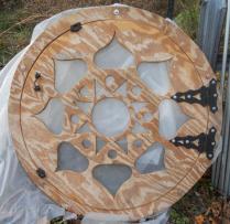 Dome door built by Sunnyside.