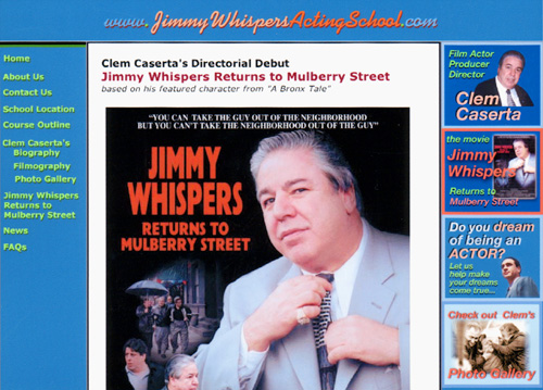 Jimmy Whispers website