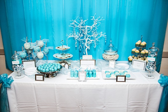 Tiffany Blue Dessert Table  Sunny Side Sweet Shop