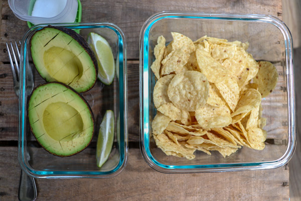 On-the_go Summertime Snacks Guac and Chips