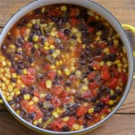 Quick and easy black bean recipe you can use 7 ways!