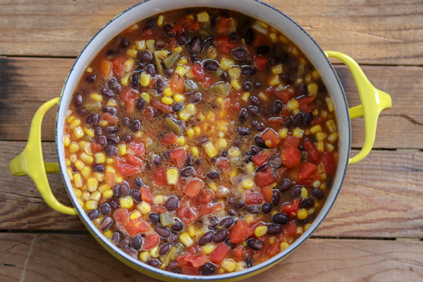 A 15 minute black bean recipe you can use 7 ways!