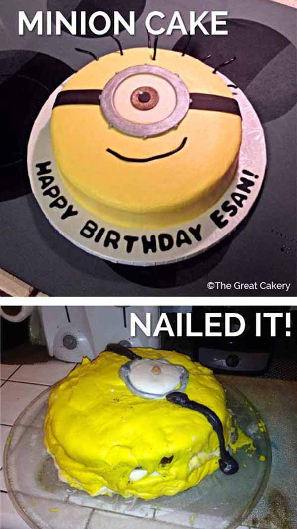 Nailed It Cakes : nailed, cakes, Pinterest, Myself..., NAILED, Hilarious, Baking, Fails