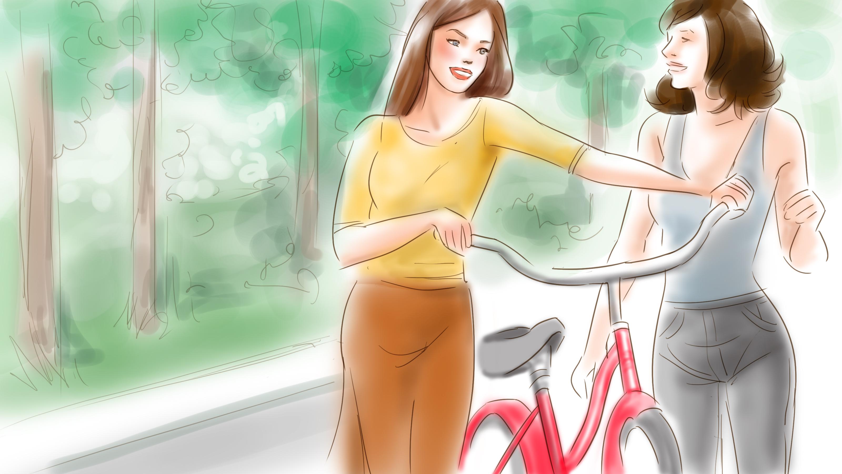 bike girl.tones