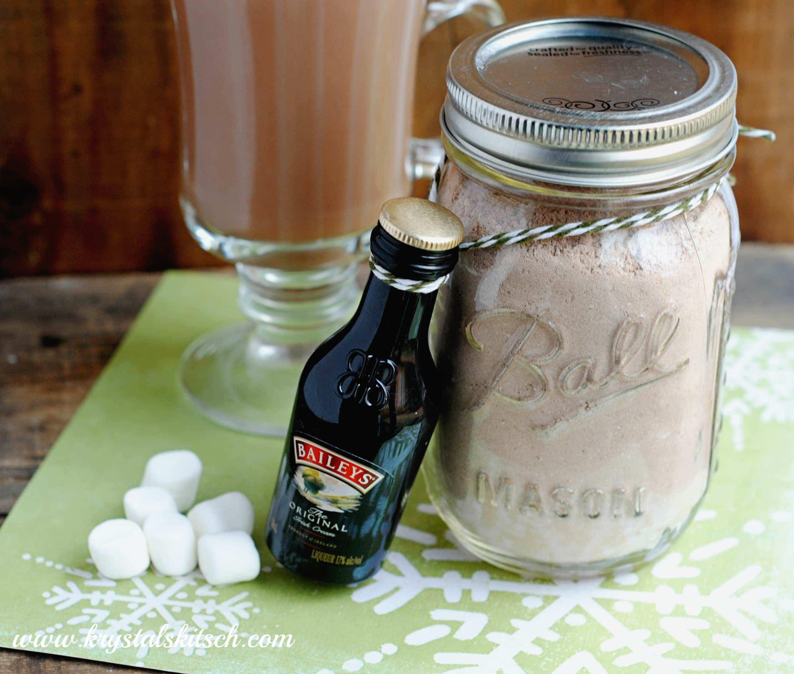 Make Baileys Hot Cocoa This Holiday Season