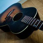 ロバートジョンソン使用ギター⁈Kalamazoo KG-14