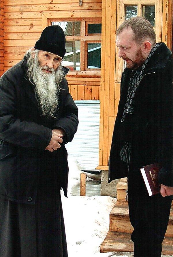 Старец Илий и поэт Николай Мельников