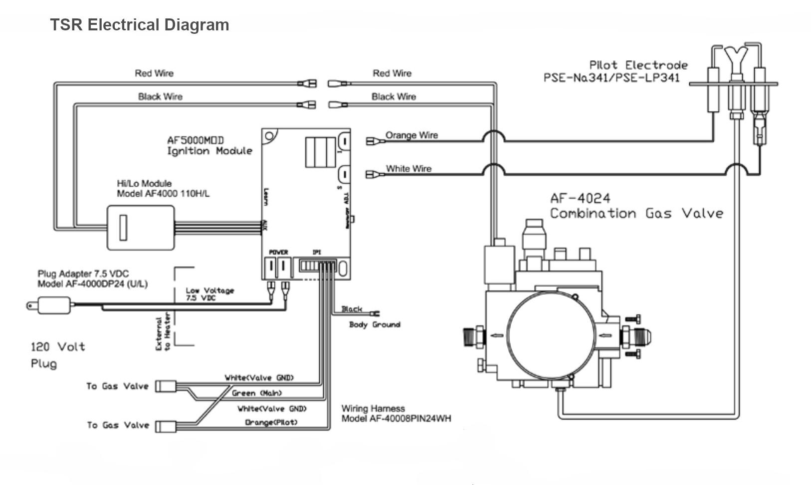 hight resolution of dayton heater ga valve wiring diagram