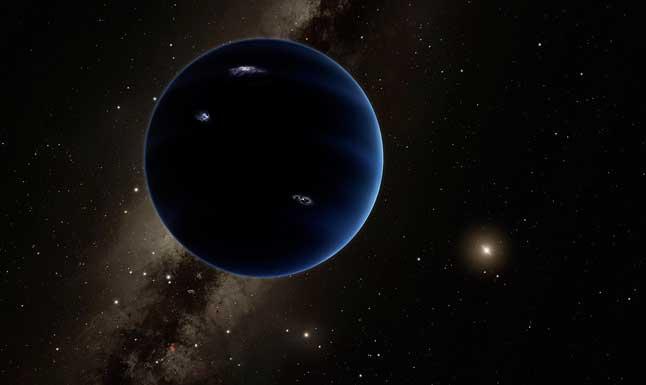 Сурет, силуэт, тоғызыншы планета, гипотетикалық планета, күн жүйесі, күн, сүтті әдіс, галактика, жұлдыздар, кеңістік