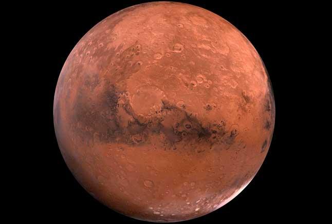 Марс, планета, фотосурет