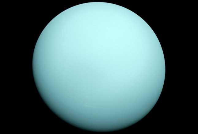 Уран, планета, фотосурет