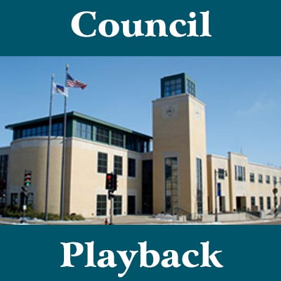 """""""Council Playback,"""" hosted by Dan Presser, will be designed as a review of the most recent Common Council and Committee of the Whole Meetings, and will focus on the most significant developments from those meetings. Each episode will feature Presser interviewing the mayor, a Council member, and potentially city staffers."""