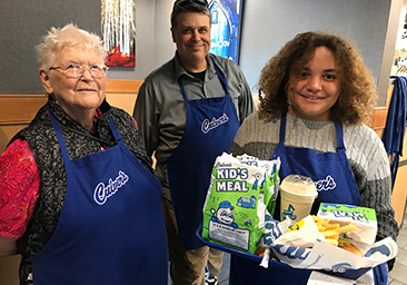 Thanks to Culver's for a Successful KIDS-4 Share Night!